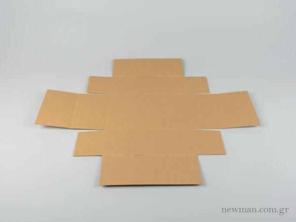 Ανάπτυγμα κουτιού τύπου σπιρτόκουτο kouti newman spirtokouto flat
