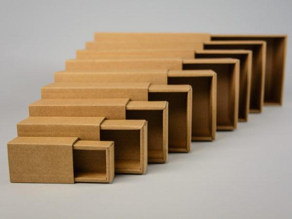 10 μεγέθη κουτιά τύπου σπιρτόκουτο Newman