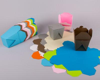 origami newman customboxes χάρτινα κουτιά σε χρώματα