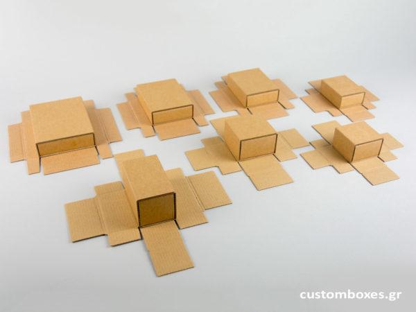 Σπιρτόκουτα με βελούδινη βάση για κοσμήματα spirtokouta gia kosmimata 7 sizes