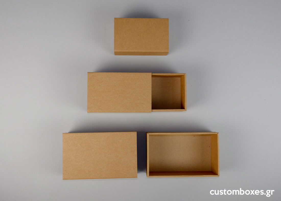 Kraft boxes as shipping boxes