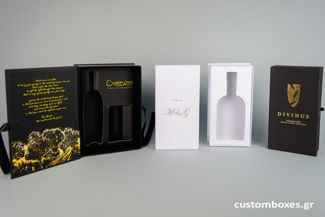 Branding bottle boxes