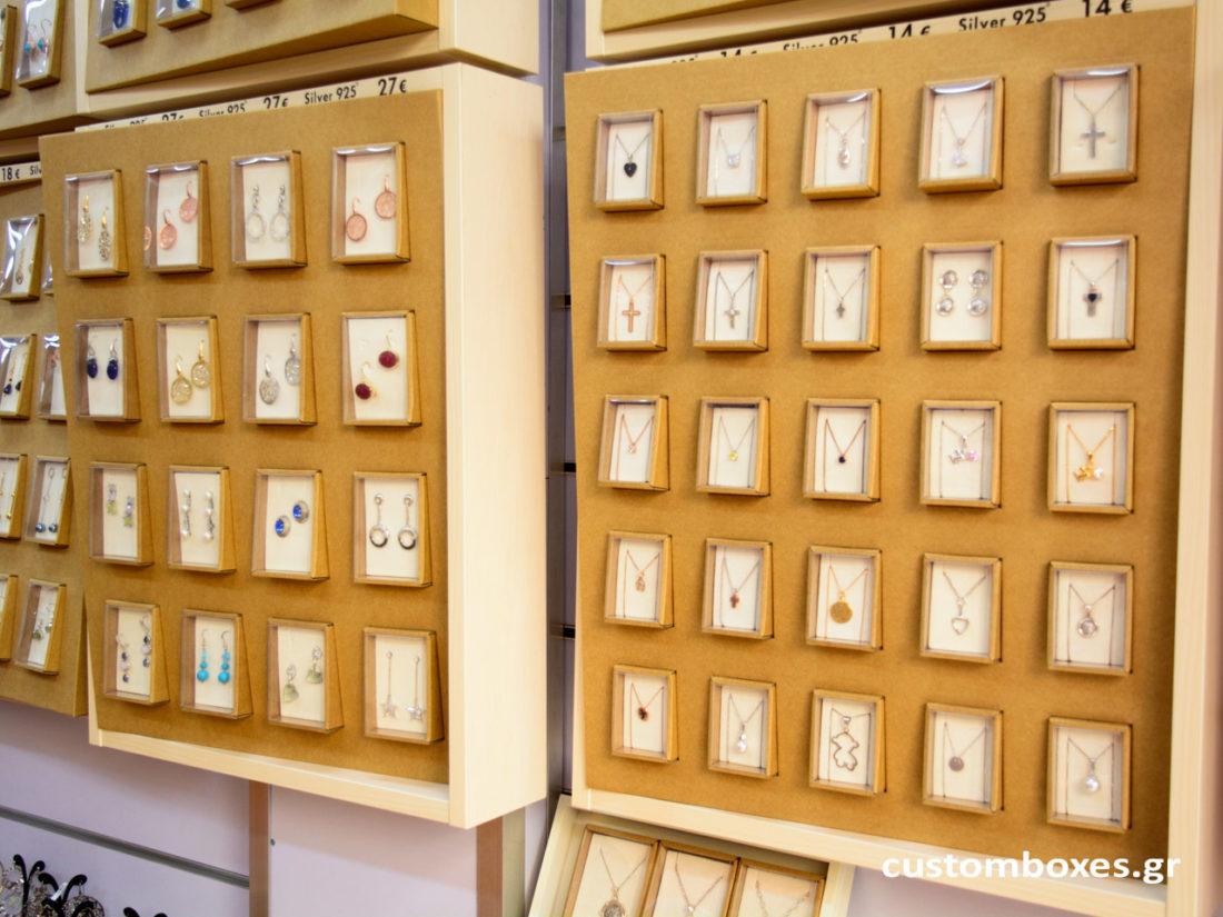 custom made jewelry store display