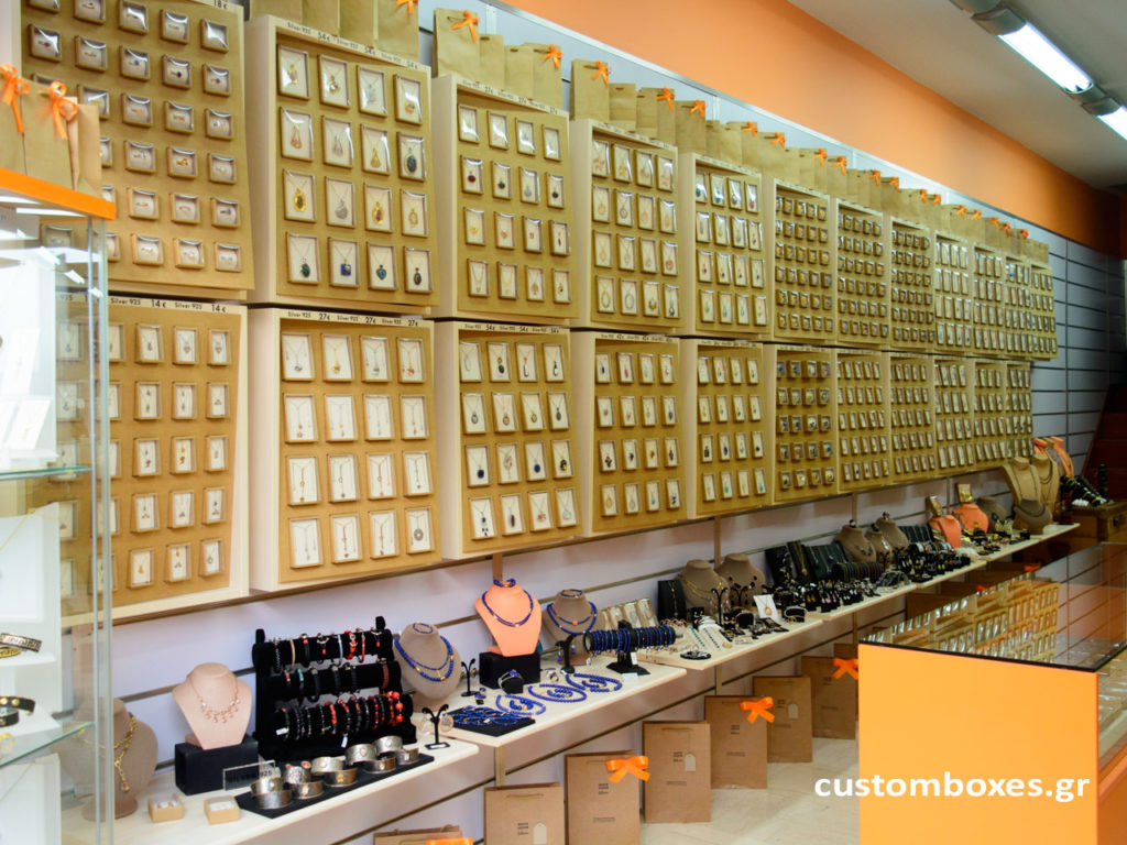 custom made jewelry store display system