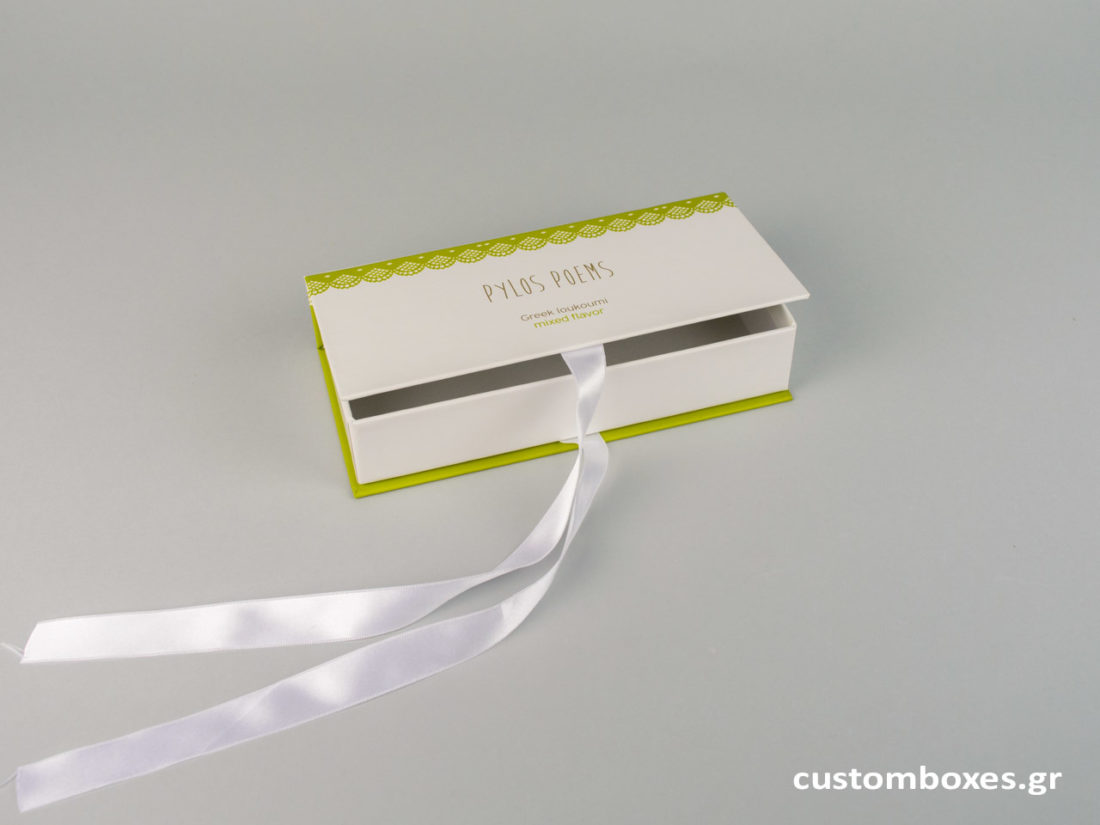 luxury box with ribbons