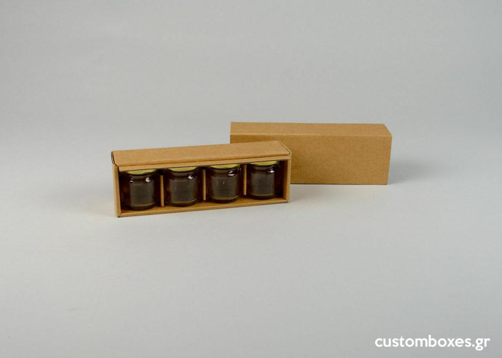 kraft custom made box honey