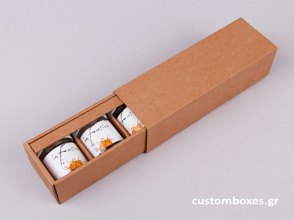 kraft custom made box honey