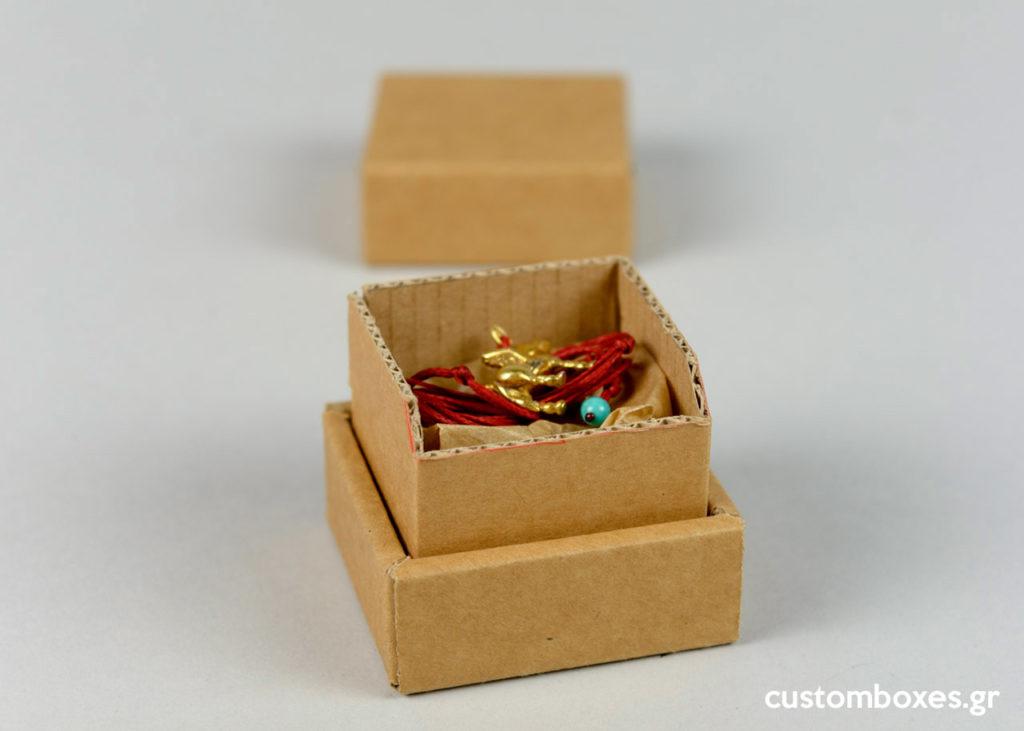 kraft koutia faux bijoux handmade