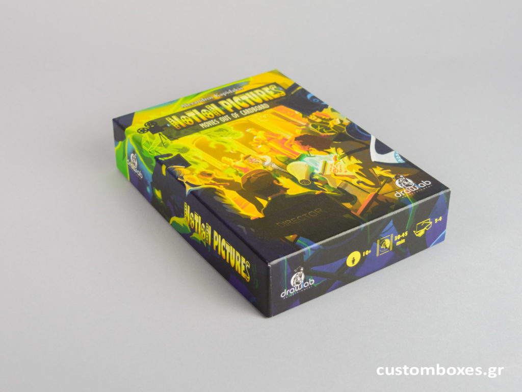 printed boxes for games, books, cd, pazzle